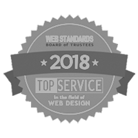 Web Design Logo, Top Service