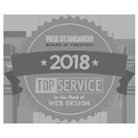 Web Design Logo, Top Service