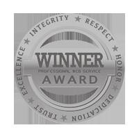 Web Service Logo, Professional Web Service Award
